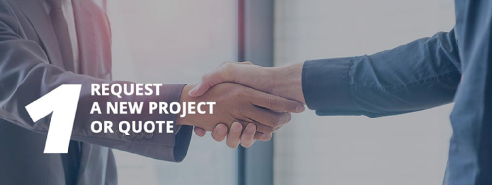 request a new project or quote