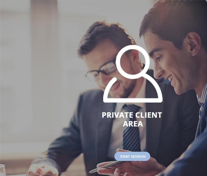 private client area